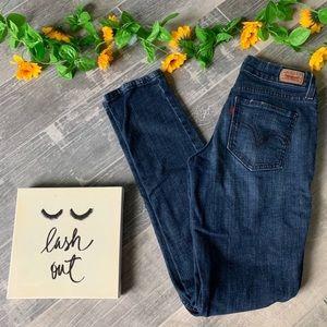 Levi's Curvy Cut 528 Skinny Jeans